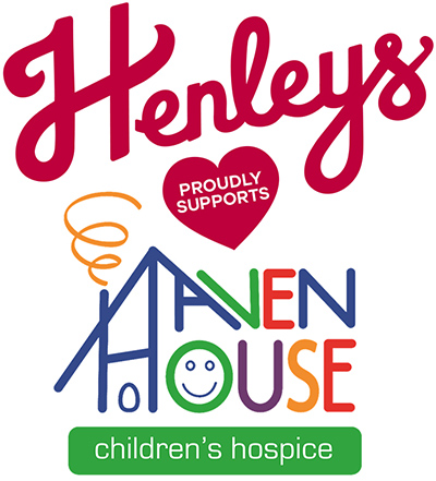 Henleys proudly supports Haven House Children's Hospice